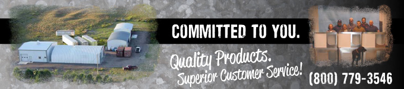 committed to the customer, quality chew-proof doghouses, superior customer service